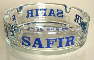 ac0055 SAFIRガラス灰皿