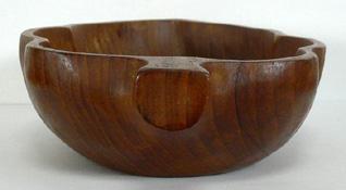 ac0103 オランダの木製トレー ぶどう型