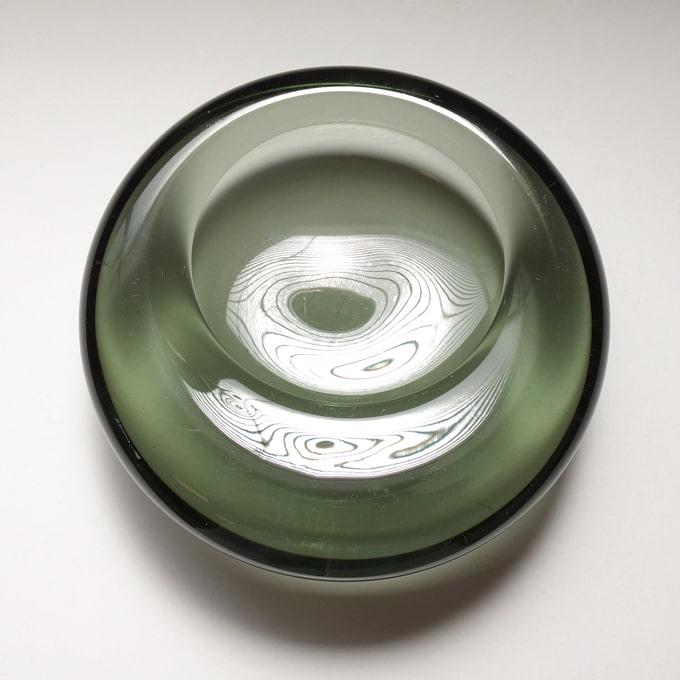 ホルムガードのガラストレー グレー