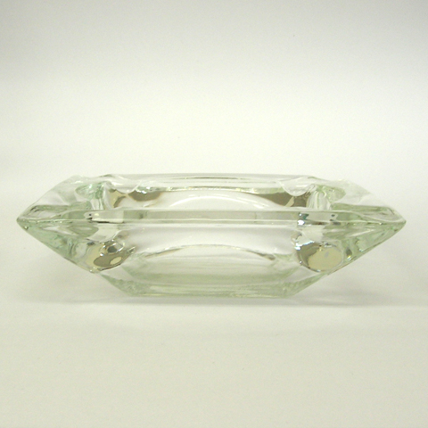 ファイヤーキングガラス灰皿クリスタル