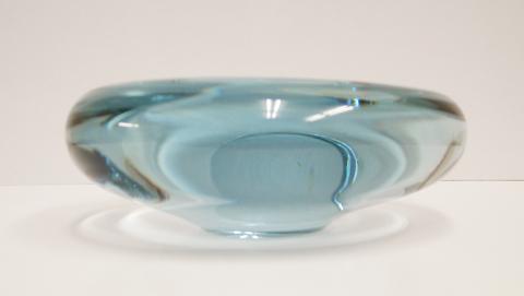 Holmegaardガラス灰皿 ビンテージ