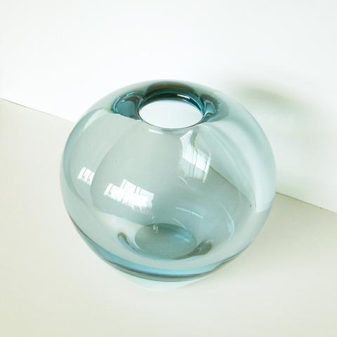 ホルムガードのガラスベース ビンテージ