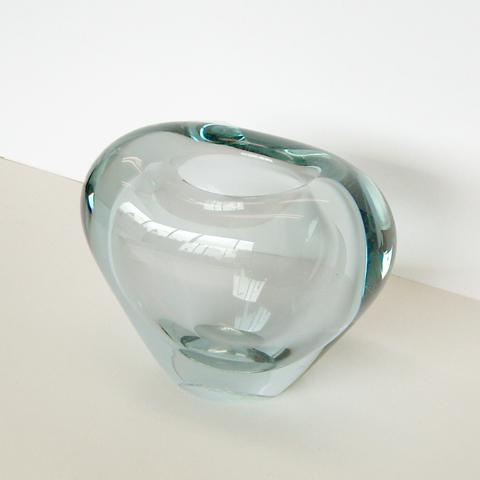 Holmegaardガラスベース ハート