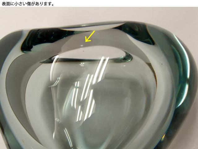 ビンテージ ガラスベース