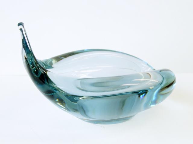 デンマークHolmegaardガラス灰皿