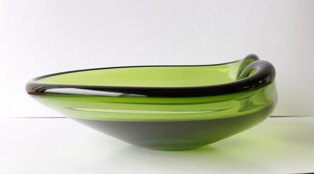 ヴィンテージ ガラス灰皿 Holmegaard