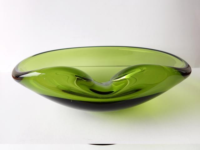 ビンテージガラス灰皿 北欧