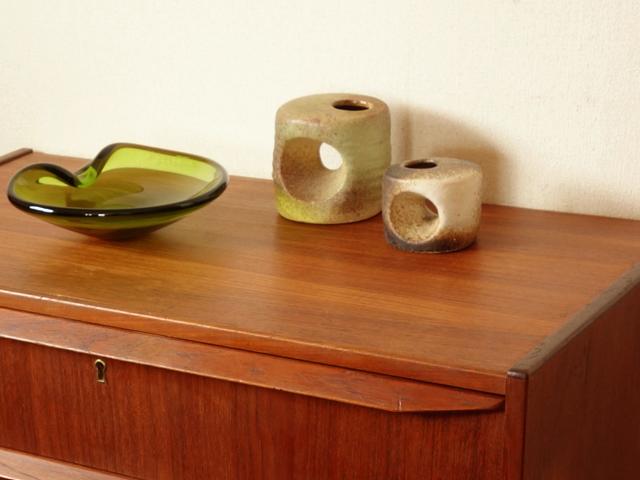 アートな花瓶 ヴィンテージ陶器