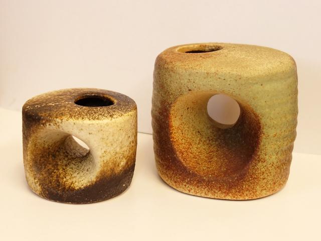 アンテイーク陶器 一輪挿し