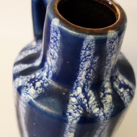 ビンテージ花瓶 接写