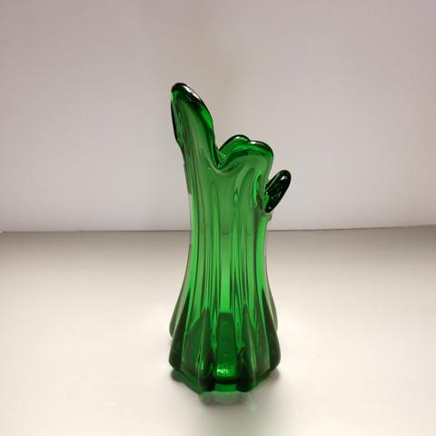 フラワーベース アンティークガラス