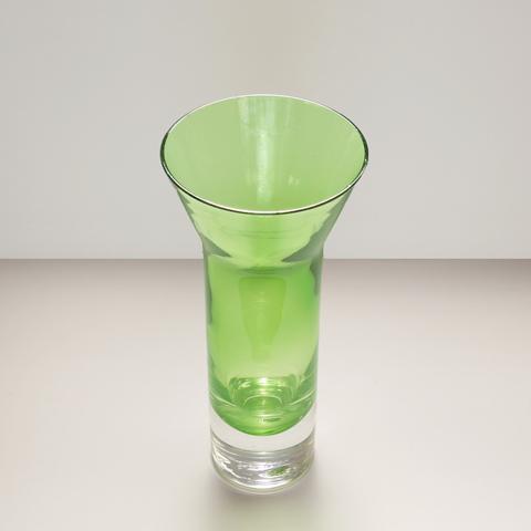 ライトグリーン ガラス花瓶
