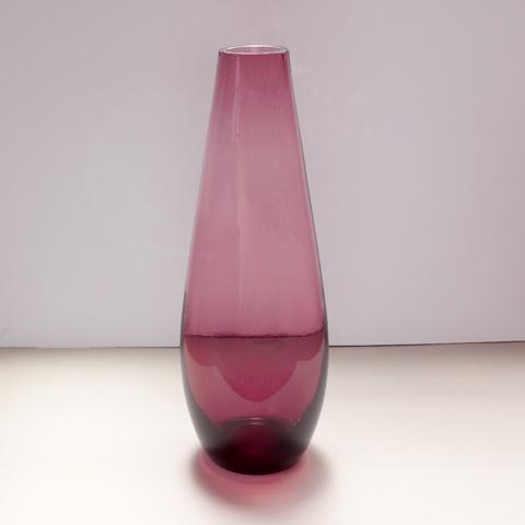 ガラス花瓶 パープル
