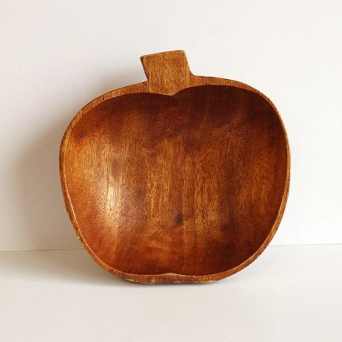 ウッドボウル リンゴ型