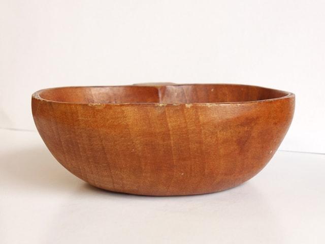 ビンテージ木製ボウル