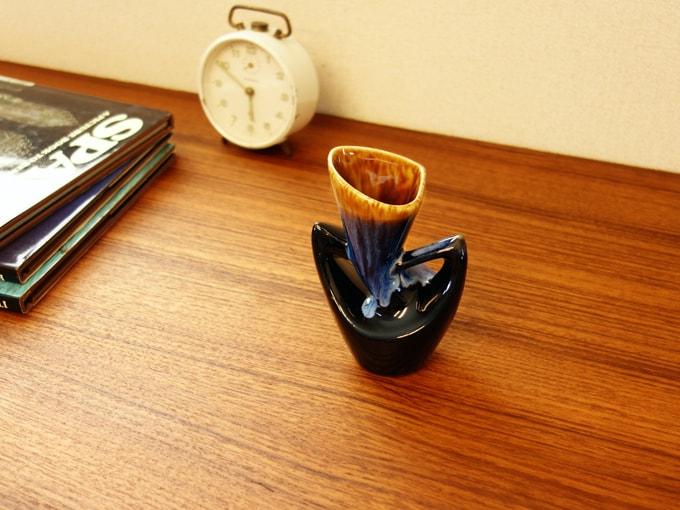 陶器花瓶 北欧ビンテージ雑貨