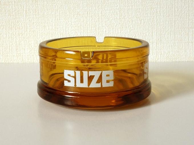 ヴィンテージガラス灰皿SUZE