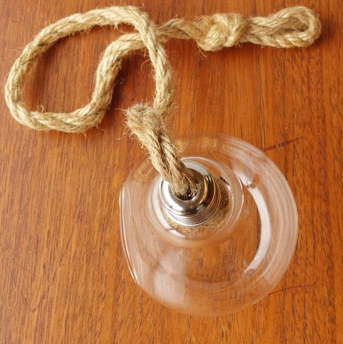 プラントホルダー ガラス 電球型