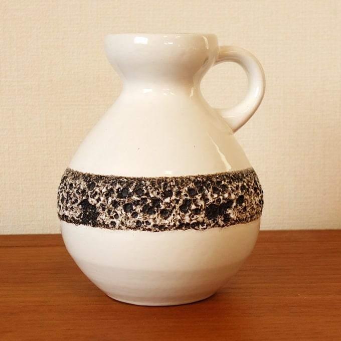 西ドイツのヴィンテージ陶器フラワーベース