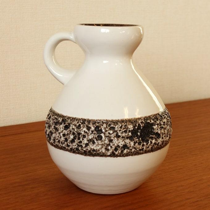 ヴィンテージ花瓶 白