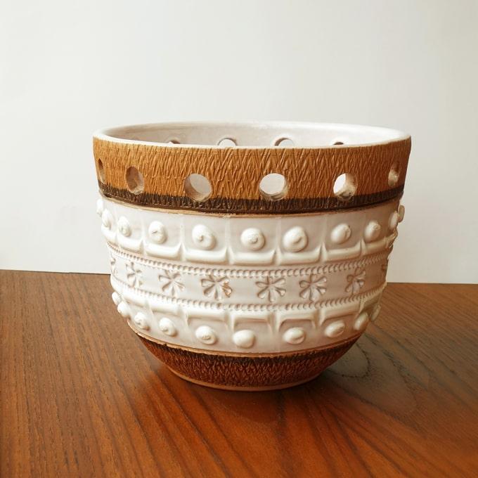 ビンテージ陶器プラントポット
