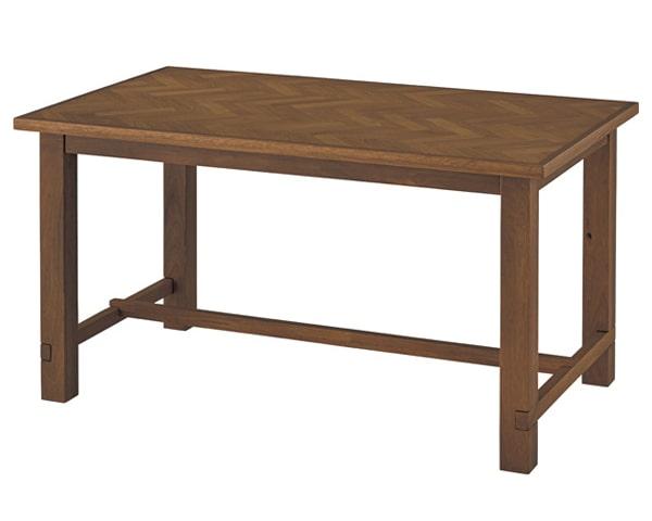 ダイニングセット ヘリンボーン柄テーブル