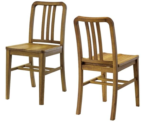 ヘリンボーンのダイニングセット 椅子