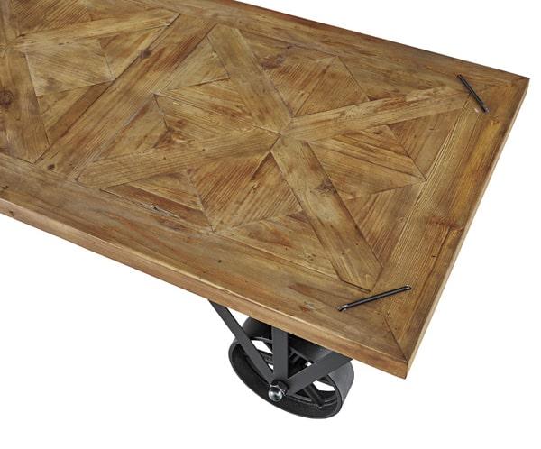 素材感が格好いいテーブル天板