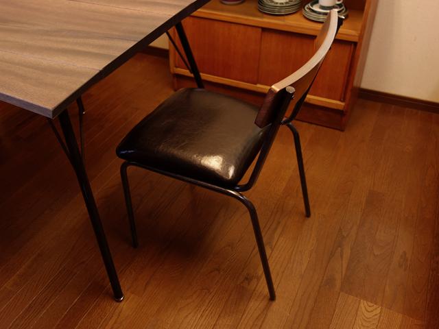 椅子 ウォルナット無垢材使用