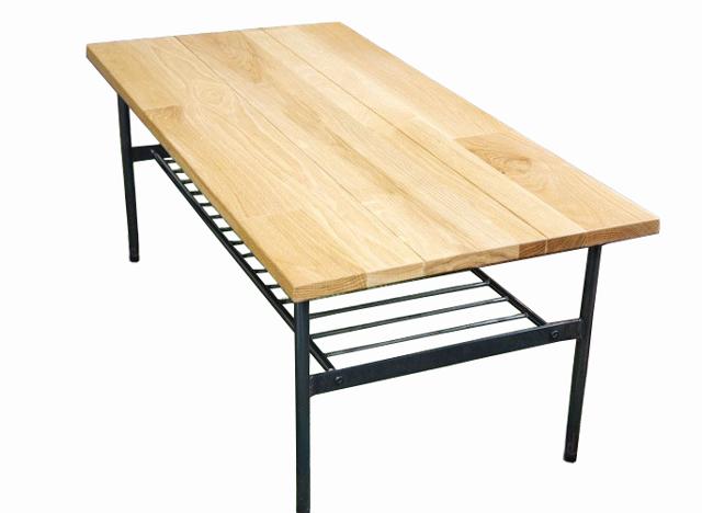 オーク無垢材テーブル 幅105cm
