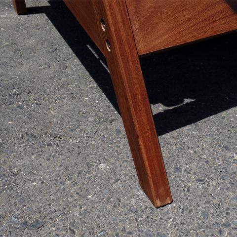 ビンテージ椅子脚 後ろ