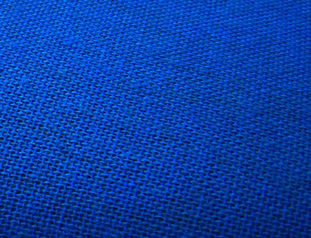 椅子ファブリック青