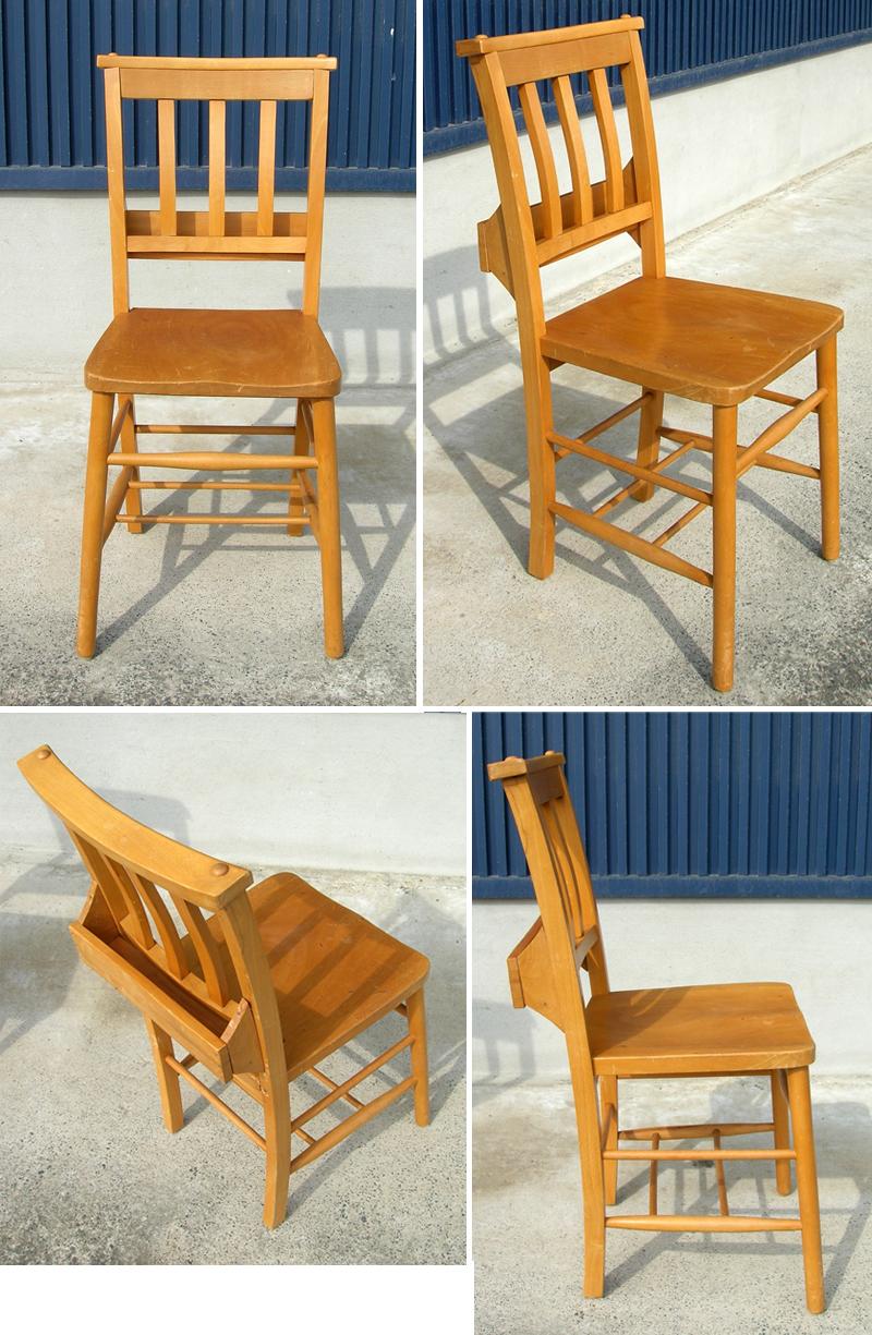 イギリスアンティーク椅子チャーチチェア