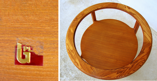 木製コーヒーテーブル