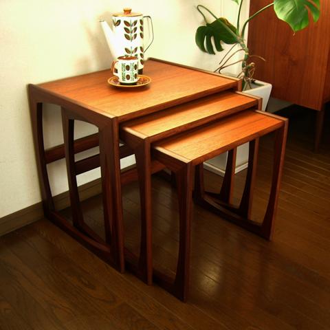 G-PLANヴィンテージ ネストテーブル