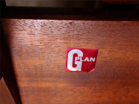 G-PLAN テーブル シール