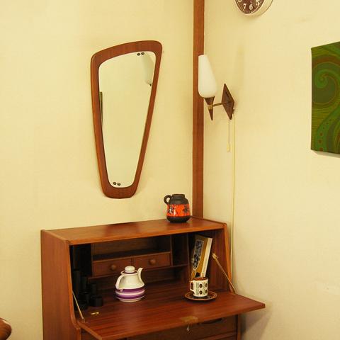ビンテージ鏡 ウォールミラー
