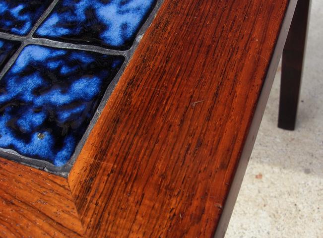 ビンテージ木製サイドテーブル