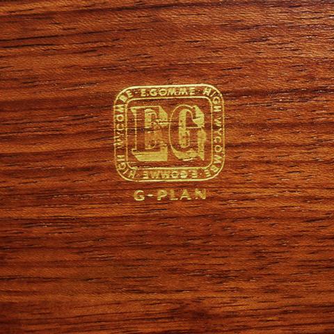 G-PLAN家具バックスタンプ