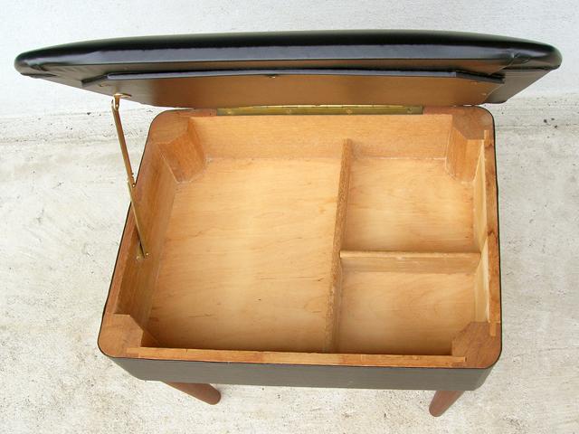 木製BOXスツール ビンテージ