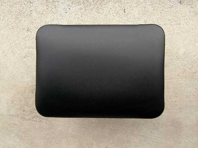 ビンテージ木製スツール 座面ブラック