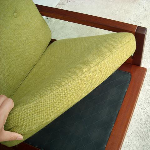 ビンテージ イージーチェア座面