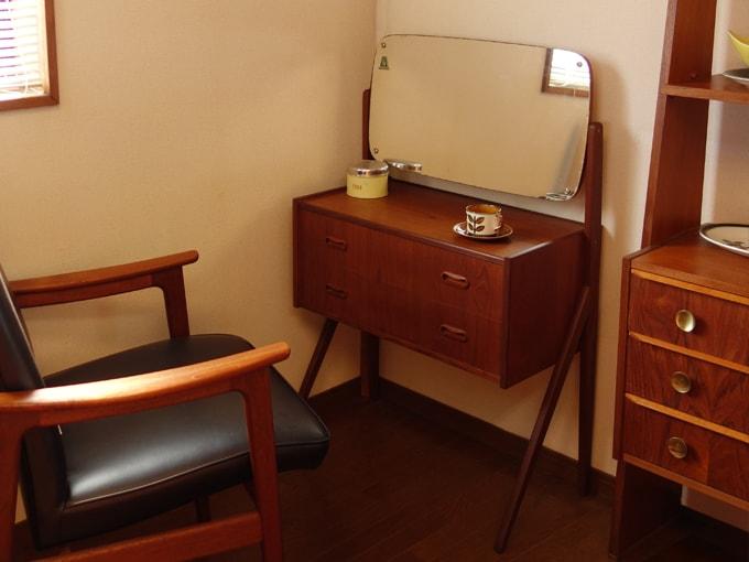 ドレッサー 北欧ビンテージ家具 化粧台