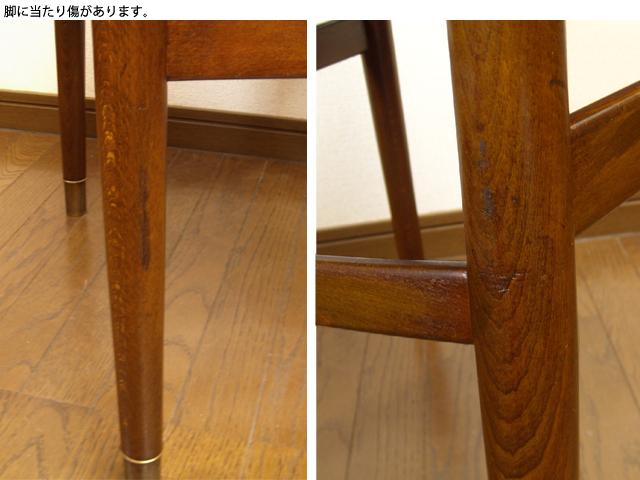 ビンテージ木製チェア脚