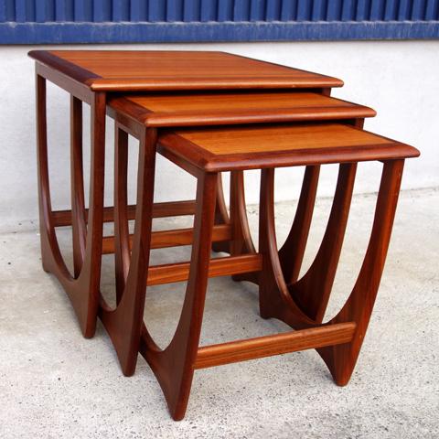 G-PLANチーク ネストテーブル