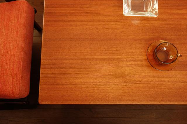 ビンテージ チーク コーヒーテーブル