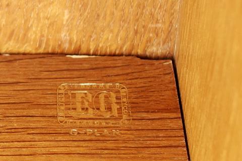 イギリスG-PLAN家具 刻印