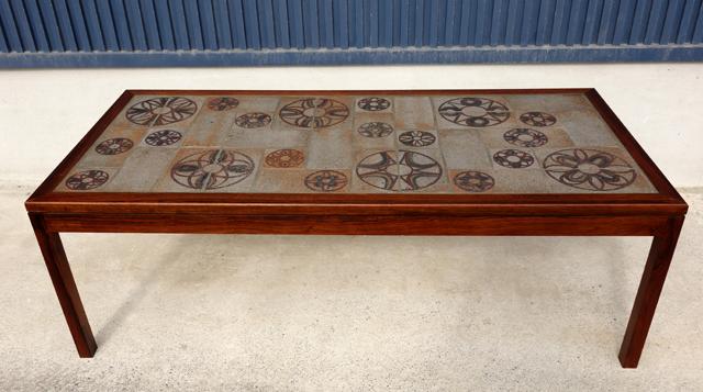 タイルトップテーブル 北欧家具