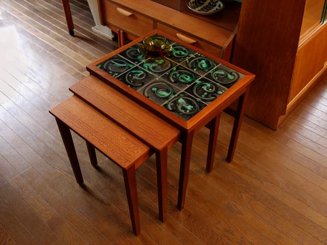 ネストテーブル 北欧ヴィンテージ家具