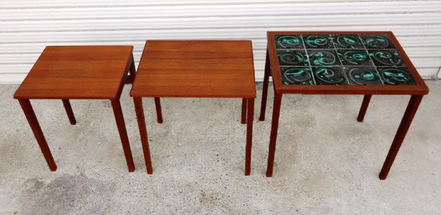 北欧ネストテーブル 3個